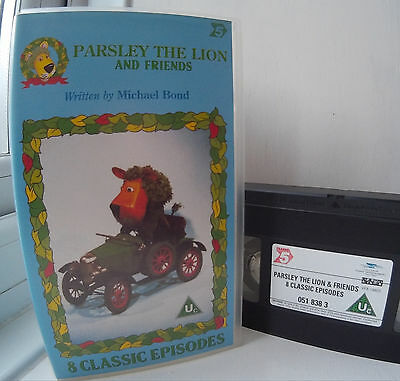 Parsley  The  Lion  and  Friends  -   8  Classic   Episodes   VHS   Video