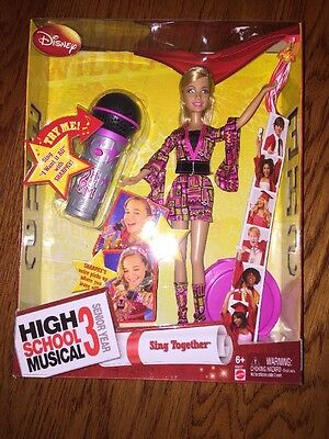High School Musical 3 Sing Together Sharpay New & SEALED