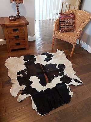 Superior quality Genuine Cowhide Rug - Kuhfell /Kohud / Peau de vache UK Seller