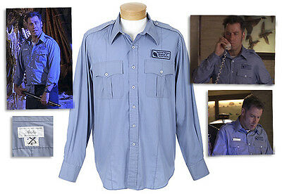 John Travolta Hero Shirt From ''Mad City'' Screen UsedCOA