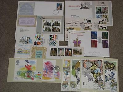 Great Britain, 40 Different FDC`s