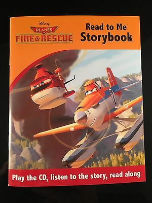 Read To Me Storybook - Planes Fire & Rescue - Cd And Book