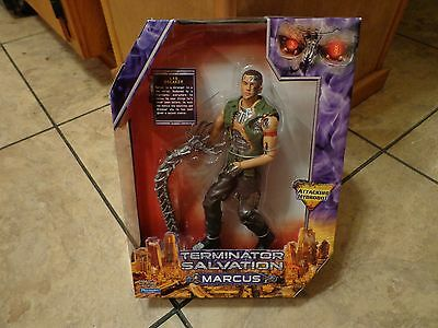 "2009 Playmates Toys--Terminator Salvation--9"" Marcus Figure (New)"