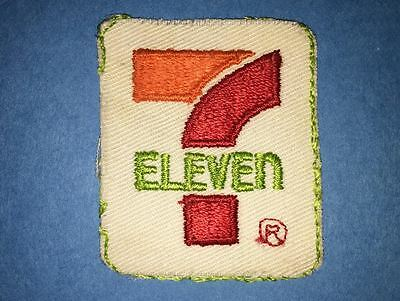 Rare 1980's 7 Eleven Convenience Store Collectable Trucker Farmer Hat Patch