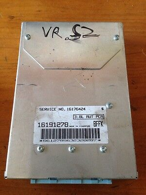 HOLDEN COMMODORE VR ECU COMPUTER V6 AUTO BFFK GENUINE No Missing Codes Tested