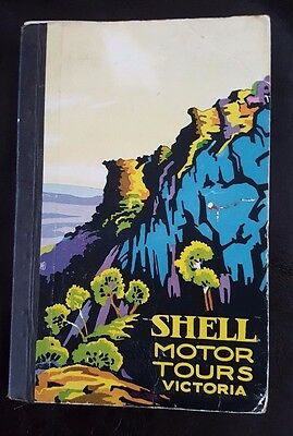 1930 Shell Motor Tours Victoria - Art Deco Maps