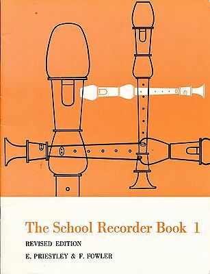 The School Recorder Book 1 - Friestley & Fowler