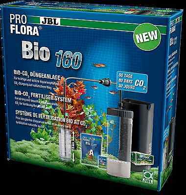 JBL ProFlora Bio160 2 Bio-CO2 fertiliser system with extendable diffuser CO2 KIT