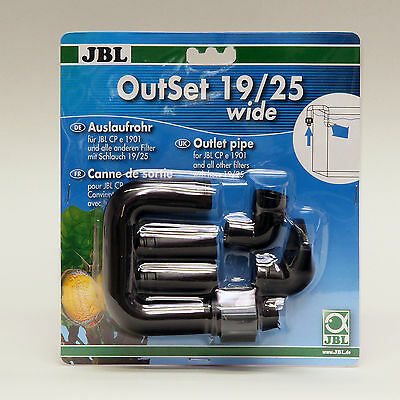 JBL OutSet Water return set . 19/25m pipe for external aquarium filter pipe