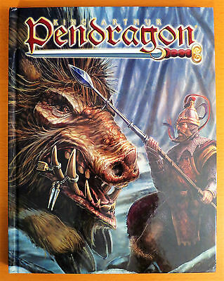 King Arthur Pendragon Roleplaying Game 5th Edition Hardcover from 2005 NEW