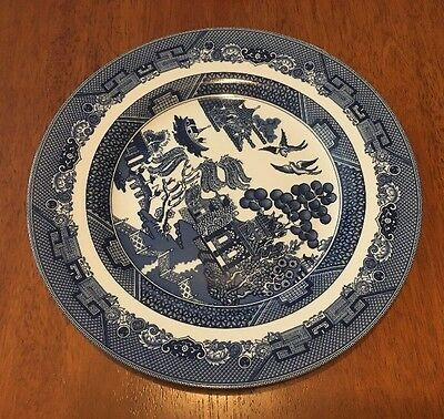 "Blue Willow 11"" Dinner Plate Johnson Bros England 6 Available"