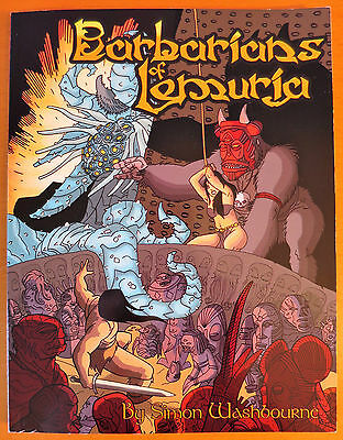 Barbarians of Lemuria (Legendary Edition) - Near Mint