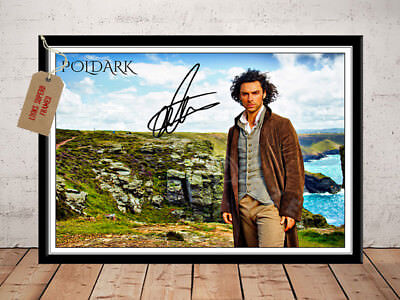 Poldark Aidan Turner Autographed Signed Photo Print 12X8
