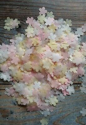 1200 White&cream/ivory& Pink Small Flowers  Wedding Throwing Confetti/decoration