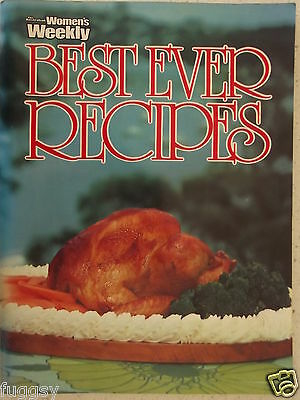 Best Ever Recipes Australian Womens Weekly Cookbook