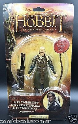 "THE HOBBIT  Bridge Direct 6"" Scale LEGOLAS Sealed On Card Lord of the Rings"