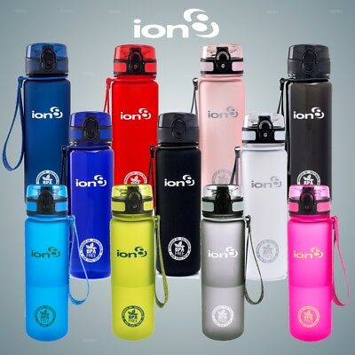 Ion8 Leak Proof BPA Free Hydration Water Bottle 500ml