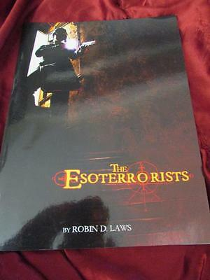 THE ESOTERRORISTS. Roleplaying Game Core Rulebook 1st Edition. RPG Robin D. Laws