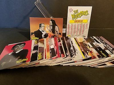 THE MUNSTERS #1-72 Complete card set : 1997 Dart
