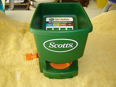 Scott's Hand-Held Broadcast Spreader - used once