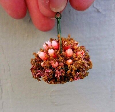 how to make miniature hanging baskets