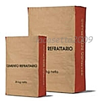 Cement Refractory Construction Ovens A Wood Bag 25 Kg