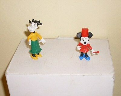 Vintage Kinder Toys Eggs 1990s C 2 Piece Disney Minnie Mouse Clarabell Cow