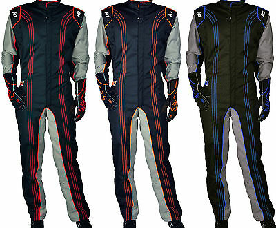 K1 - GK2 Level 2 Karting Suit - Kart Racing CIK-FIA Rated - Youth & Adult Sizes