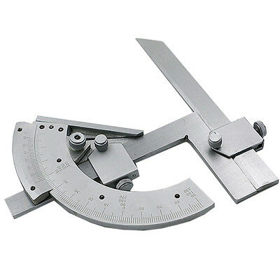 Universal Bevel Protractor 0-320°Precision Angle Measuring Finder Ruler Tool NEW