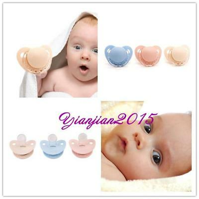 Baby Newborn Orthodontic Dummy Pacifier Infant Silicone Safe Teat Nipple Soother