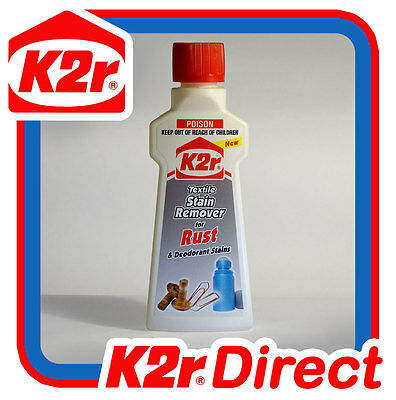K2r Rust & Deodorant Stain Remover-Fabric Cleaner Upholstery Curtains Rustiban