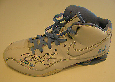KENYON MARTIN 2010 Nuggets Game Worn Shoe - Used & Signed by K Mart Sneaker