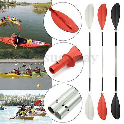 213cm Double-Ended Detachable Aluminum Afloat Boat Kayak Paddles Raft Canoe Oars