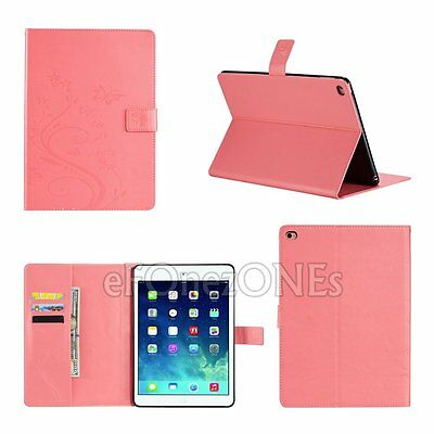 Smart Magnetic Leather Stand wallet Case Cover for Apple iPad 2 3 4 Air Mini Pro