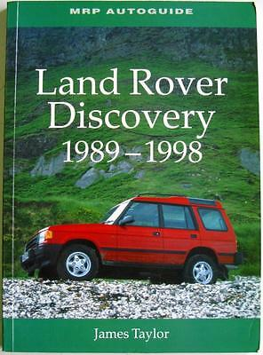 Land Rover Discovery 1989 - 1998 (Mrp Autoguide) - Taylor Isbn:1899870407 Book