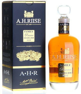 A.H. RIISE Family Reserve 1838 Rum 25 Jahre