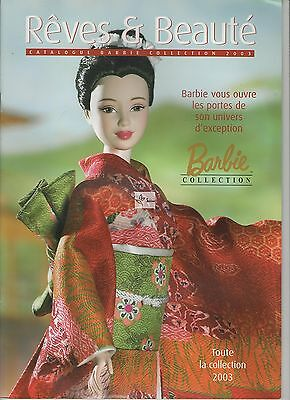 Barbie - Catalogue Collection - Reves & Beauté - Collection 2003