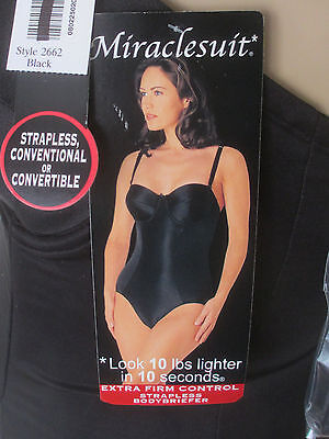 856d3d67d3 Miraclesuit Extra Firm Control Bodybriefer Strapless Convertible Size Color  2662