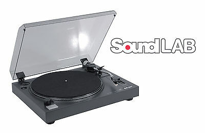 SoundLAB Professional USB Pitch Controlled Turntable Software & USB Lead