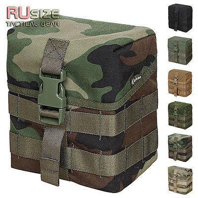Tactical Small Pouch Universal / For Luggage MOLLE/PALS Bag Magazine Case Army