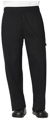 Dickies Unisex Traditional Baggy 3 Pocket Chef Pant Black DC11