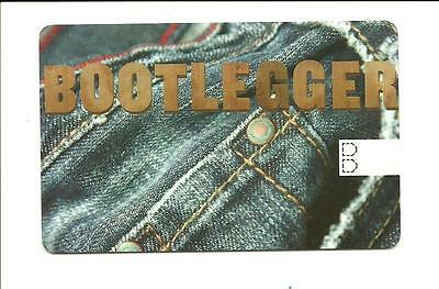 Bootlegger Store Gift Card No $ Value Collectible Denim Blue Jeans
