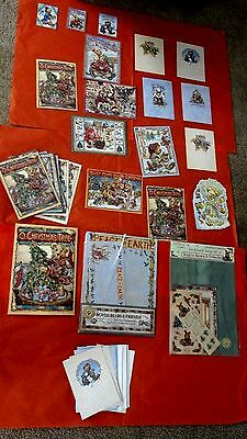 Boyds Bears Christmas Cards and Stationery New Condition Bundle  Gift