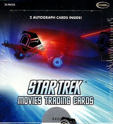 Star Trek Movies Trading Cards (Rittenhouse) 12 Box Case Blowout Cards