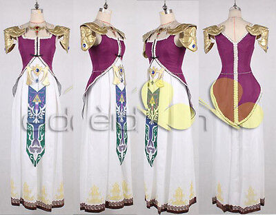 The Legend of Zelda Princess Zelda Cosplay Costume Any size