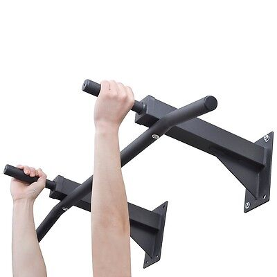 Chin Pull Up Bar Wall Mounted Home Gym Exercise Doorway Station Workout Fitness
