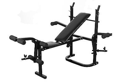 Fitness Multi-station Home Gym Weight Bench Curl Flat Press Incline AB Exercise