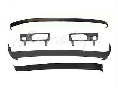 FOR 2006-08 DODGE PICKUP RAM FRONT BUMPER UPPER PRIMED CAP LOWER VALANCE AIR DAM