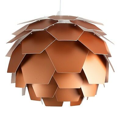 Large Contemporary Copper Style Artichoke Ceiling Light Pendant Shade Lighting