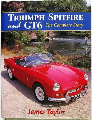 Triumph Spitfire And Gt6 The Complete Story - James Taylor Isbn:1861262620